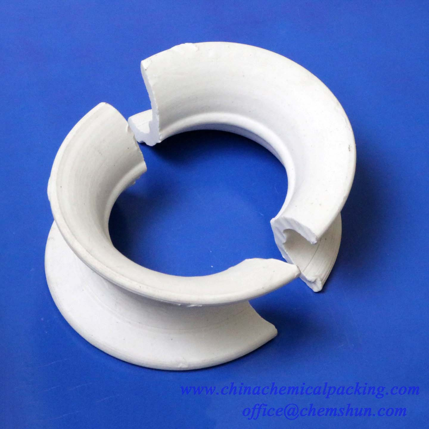 Ceramic Intalox Saddle Ring
