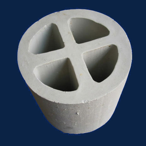 Ceramic cross-partition ring (AL2O3:17-23%)